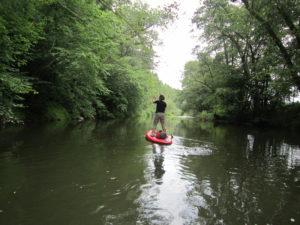 Kanu & SUP Verleih an der Werra bei Eisenach in Thüringen