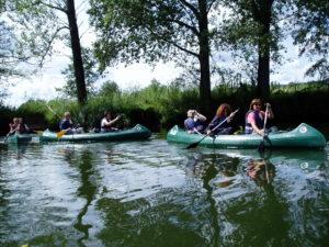 Bootstour auf der Werra zwischen Neuenhof und Mihla