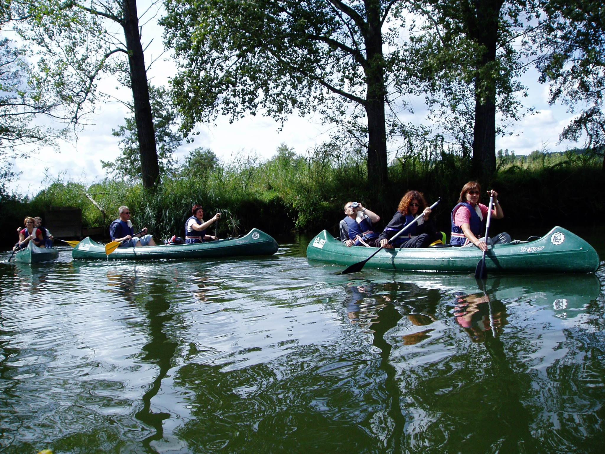 Bootstour von  Neuenhof- Mihla