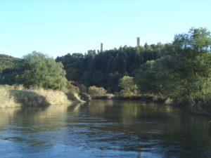 Brandenburg- Burgruine bei Lauchröden