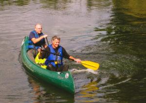 Kanu Paddeltour auf der Werra zwischen Lauchröden und Treffurt