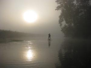 Bootstour auf der Werra- für Frühaufsteher